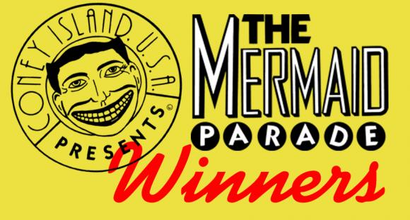 Mermaid Parade Winners