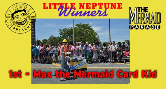 1 - Max the Mermaid Card Kid
